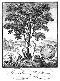 ADAM AND EVE. 'Therefore the Lord God sent him forth from the Garden of Eden