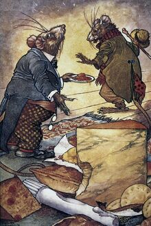 animals/aesops fable the town mouse country mouse