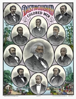 african american history/african americans c1883 distinguished colored men