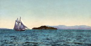 us cities/alcatraz island c1900 view alcatraz island golden