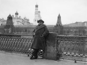 ALEXANDER WOOLLCOTT (1887-1943). American journalist. Visiting Moscow, the Soviet Union