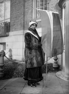 ALICE PAUL (1885-1977). American social reformer and founder of the National Women's Party