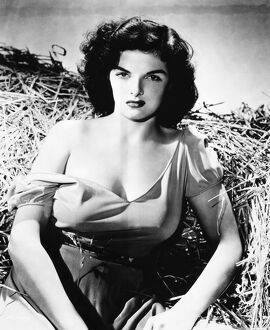 American actress. Russell in 'The Outlaw,' 1943.