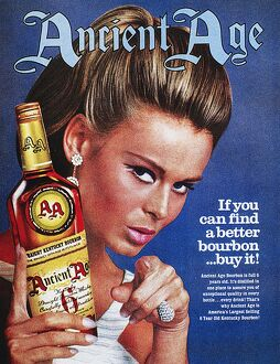 vintage ads/american ad ancient age kentucky bourbon 1967