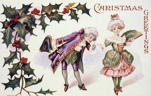 AMERICAN CHRISTMAS CARD. /nAmerican Christmas card, late 19th century.