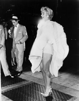 American cinema actress. 'The Seven Year Itch,' 1955.