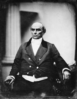 American lawyer and statesman. Daguerreotype, 1850, by Southworth and Hawes.