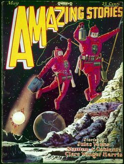 science fiction/american science fiction magazine amazing stories