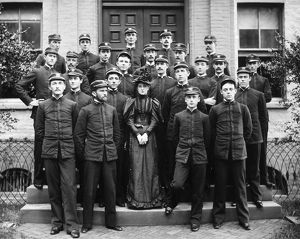 ANNAPOLIS: CADETS, 1894. The graduating class of 1894 at the United States Naval Academy