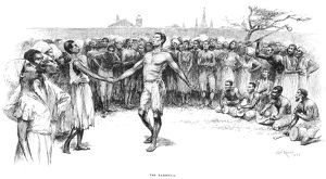 african american history/bamboula 1885 drawing 1885 edward windsor