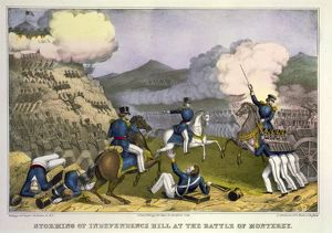 presidents/battle monterrey 1846 storming independence