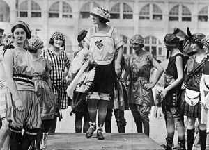 fashion/beauty contest 1921 contestants american beauty