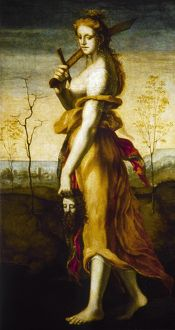 BECCAFUMI: JUDITH. 'Judith with the Head of Holofernes