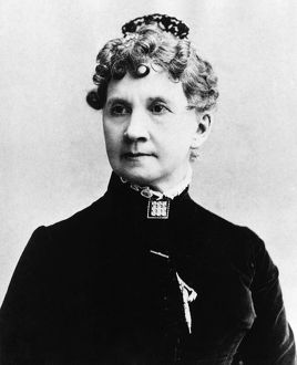BELVA ANN LOCKWOOD (1830-1917). American lawyer and women's rights advocate. Photograph