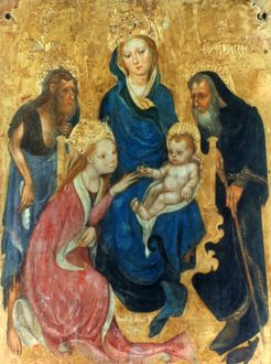BESOZZO: ST. CATHERINE. Mystical Marriage of St