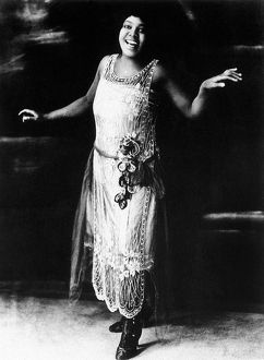 BESSIE SMITH (1894 or 1898-1937). American singer and songwriter