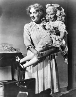 Bette Davis as Baby Jane Hudson in the film, 'Whatever Happened to Baby Jane,' 1962.