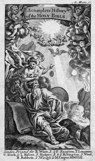 BIBLE: HISTORY, 1752. Frontispiece for 'A Complete History of the Holy Bible