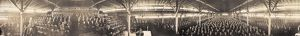 BILLY SUNDAY TABERNACLE. A panoramic view of the interior of the Billy Sunday Tabernacle
