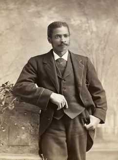 african american history/black yale student c1885 unidentified yale