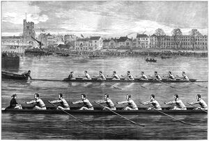 sports/boat race 1873 the oxford cambridge boat race