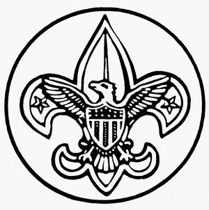 BOY SCOUTS OF AMERICA. Seal of the Boy Scouts of America, founded 1910.