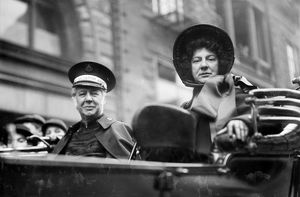 BRAMWELL & EVA BOOTH, 1913. General of The Salvation Army, Bramwell Booth, with his sister