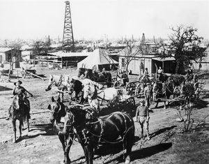 The Breckenridge, Texas, oil field in 1920, four years after its discovery
