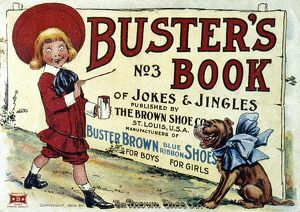 BUSTER BROWN BOOK, 1905. 'Buster's Book of Jokes and Jingles