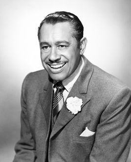 CAB CALLOWAY (1907-1994). American singer, musician and composer.