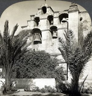 CALIFORNIA: MISSION, c1909. The Mission San Gabriel Arcangel near Pasadena, California