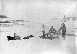 CANADA: EXPEDITION. Members of the Lady Franklin Bay Expedition, Lieutenant Lockwood