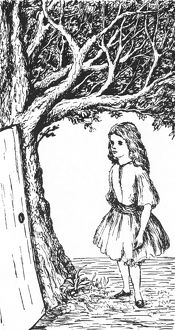 CARROLL: ALICE, 1866. Illustration by Lewis Carroll for an 1866 edition of