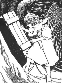 CARROLL: ALICE, 1907. Illustration by Charles Robinson for Lewis Carroll's