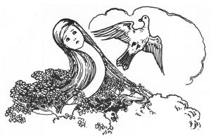 CARROLL: ALICE, 1907. Illustration by Millicent Sowerby for Lewis Carroll's