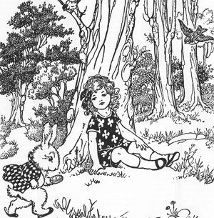 CARROLL: ALICE, 1921. Illustration by A