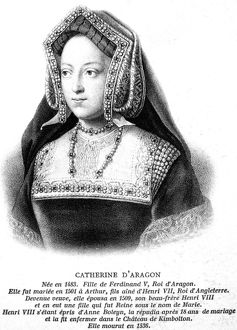 british monarchy/catherine aragon 1485 1536 first wife king