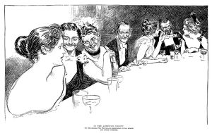 Charles Dana Gibson (1867-1944). American illustrator. 'In The American Colony