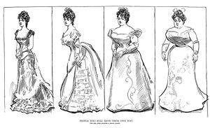 Charles Dana Gibson (1867-1944). American illustrator. 'People Who Will Have It Their Own Way