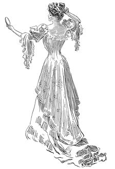 Charles Dana Gibson (1867-1944). American illustrator. Pen and ink drawing, 1903.
