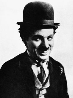 CHARLIE CHAPLIN (1889-1977). Charles Spencer Chaplin. English film actor and comedian