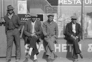 whats new b/chicago men 1941 group african american men