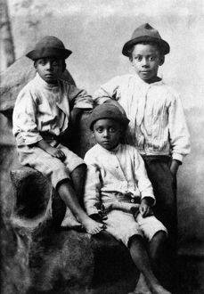 african american history/children 19th century late 19th century photograph