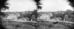 CIVIL WAR: PETERSBURG. General view of Petersburg, Virginia