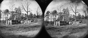 CIVIL WAR: MILL RUINS. Ruins of Gaines' Mill in the vicinity of Cold Harbor, Virginia