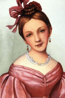 CLARA SCHUMANN (1819-1896). German pianist and composer