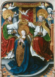 CORONATION OF THE VIRGIN. 'The Coronation of the Virgin