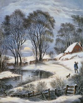 <b>Currier and Ives</b><br>Selection of 155 items