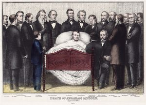 presidents/death lincoln 1865 death abraham lincoln april