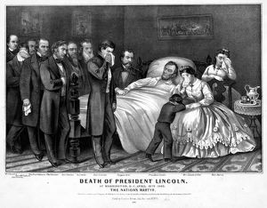 presidents/death lincoln 1865 death president lincoln